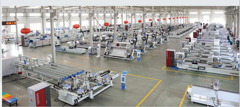 派克机器铝型材加工中心装配车间