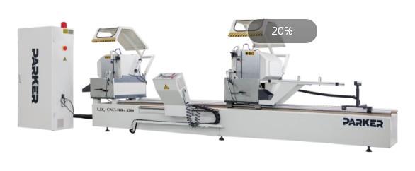铝型材切割机派克机器